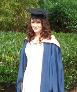 Jade Simmonds graduated from UEA in 2011 and is now an English teacher.